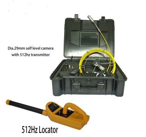 mabelstar 100Fuß Rohr Inspektionskamera Kanalisation Main Inspektion Visual Kamera Werkzeug mit Ortung Sonde Kamera Kopf und 512Hz Rohr Locator (Locator-sonde)