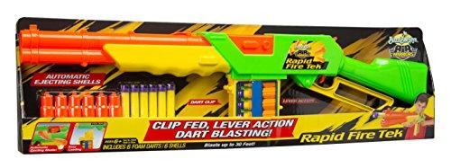 Preisvergleich Produktbild BuzzBee Air Dart Blaster Rapid Fire Tek, mehrfarbig, 46303