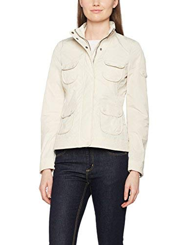 Geox Woman Jacket Giacca, Avorio (Light Chalk F1424), 50 Donna