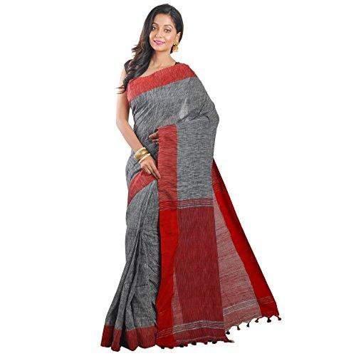 Avik Creations Cotton Saree (Ac-1003_Multicolor_Free Size)
