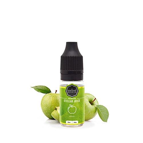 KNUQO E-liquid STELLAR Juice 10ml - Apfel-Geschmack | e-Zigarette | Wiederaufladbare Elektronische Zigarette Liquid | e Shisha | Nikotinfrei