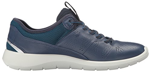 Ecco Damen Soft 5 Sneakers Blau (50357true Navy/poseidon-black)