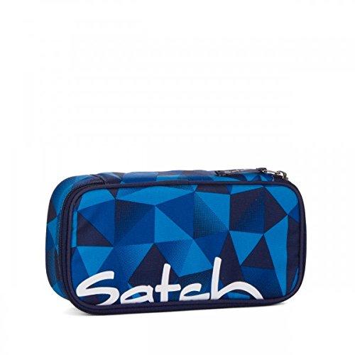 Preisvergleich Produktbild Satch Schlamperbox Blue Crush 9A2 blau polygon