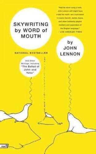 SKYWRITING BY WORD OF MOUTH By Lennon, John (Author) Paperback on 01-Jan-2000 par John Lennon