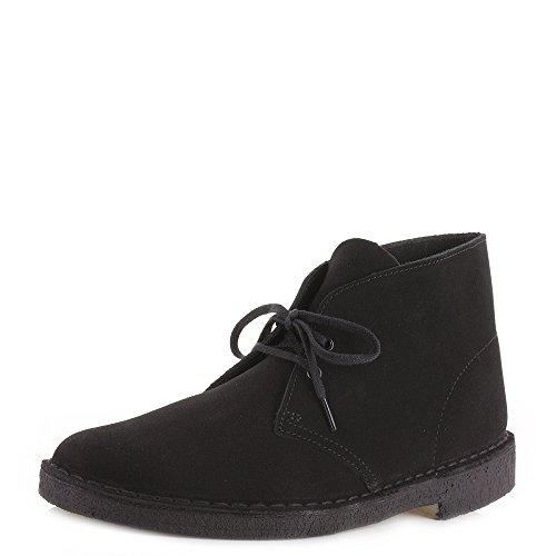 pour-homme-en-cuir-et-daim-noir-de-la-marque-clarks-desert-boots-chaussures-de-detente-noir-noir