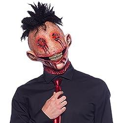 Careta Máscara de Látex Comehombre Terrorífico Accesorios Carnaval Halloween