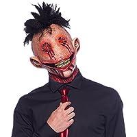 Maschera di Lattice Mohawk Orrore Terrore Halloween