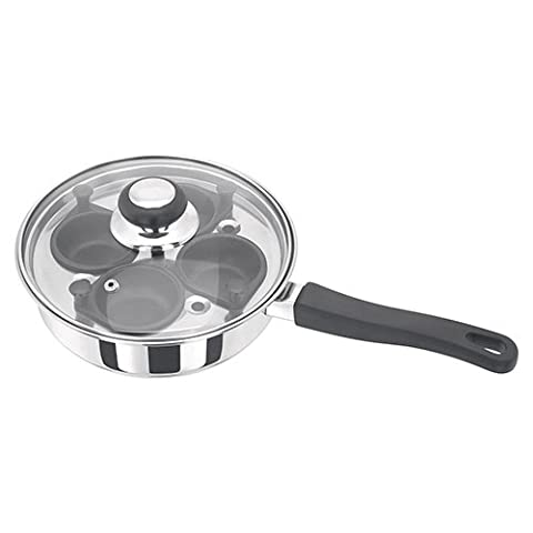 Judge Stainless Steel 4 Cup Egg Poacher With Non Stick Cups
