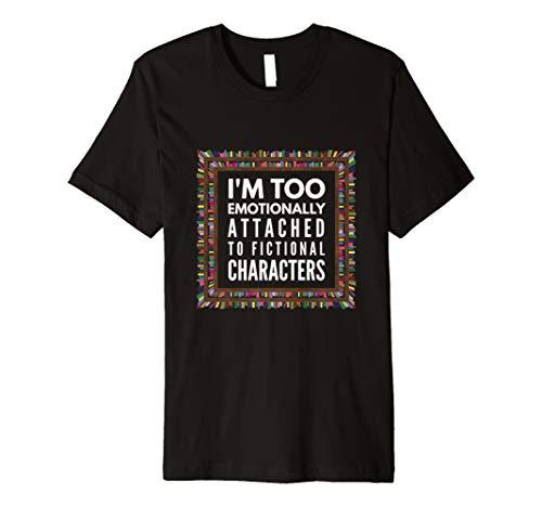 Ich bin auch Emotional an fiktives Zeichen T-Shirt