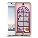 Head Case Designs Katze Winter Ferien Soft Gel Hülle für HTC One A9
