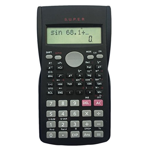 Calculatrice scientifique d'ingénieur.