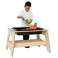 Wonderwall Large Sanpit, Sand & Water Table Activity Table - Wooden