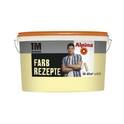 ALPINA Farbe Tim Mälzer Farbrezepte 6,5 L., Zarte Aprikose