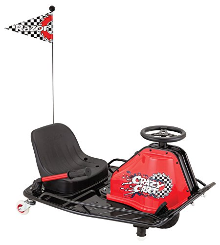 Razor Elektrokart Crazy Cart, Black, 25173860