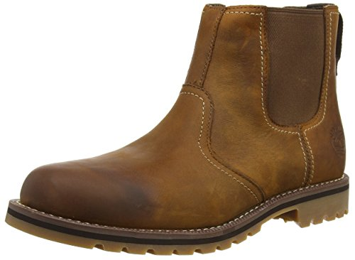 Timberland Larchmont, Men's Chelsea Boots, Brown (Brown), 8 UK (42 EU)