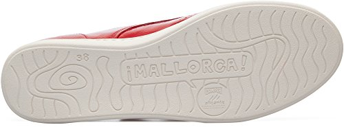 Camper  Uno, Sneakers Basses femme Rouge (Medium Red 001)