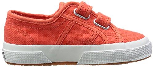 Superga  2750-Jvel Classic,  Unisex-Kinder Tennisschuhe Orange (X7Y Red Coral)