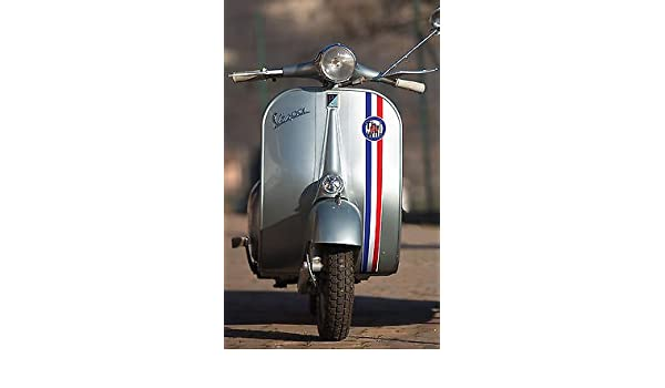 VESPA LAMBRETTA SCOOTER MOD vintage style front fairing stripe THE WHO