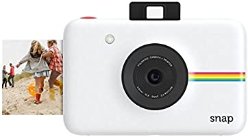 Polaroid Snap Instant Digital Camera (White) wih ZINK Zero Ink Printing Technology