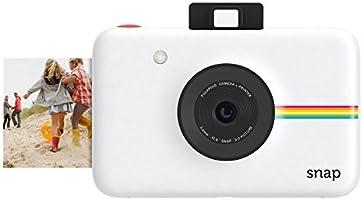 Polaroid Snap Instant Digital Camera (White) wih ZINK Zero Ink Printing Technology