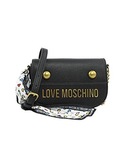 41QaY4HqtiL - Love Moschino Chain Cross Body Damen Handtasche Schwarz