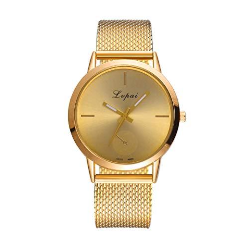 Kinlene Damen Beiläufige Quarz-Silikonarmband-Band-Uhr-analoge Armbanduhr Uhren