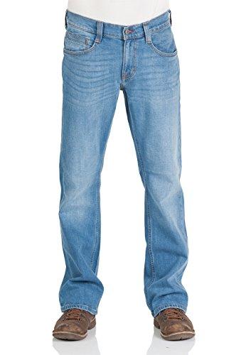 Mustang Herren Jeans Oregon - Bootcut - Blau - Light Blue - Mid Blue - Dark Blue, Größe:W 31 L 34, Farbe:Light Blue (212)
