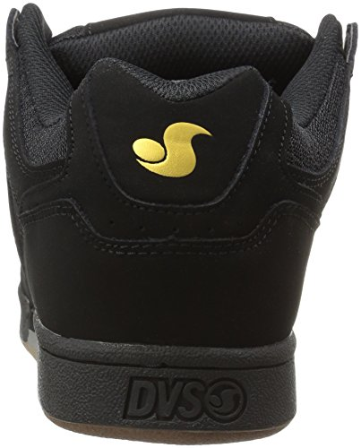 DVS APPAREL Celsius, Chaussures de Skateboard homme Black Leather