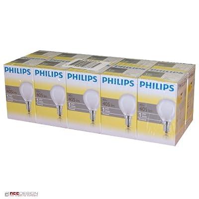10 x Philips Glühbirne Tropfen 40W E14 MATT Glühlampe 40 Watt Glühbirnen Glühlampen von Philips bei Lampenhans.de