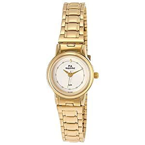 Maxima Analog White Dial Women's Watch - 26792CMLY