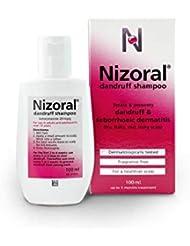Nizoral Anti Dandruff Shampoo, Perfect for Dry Flaky and Itchy Scalp - 60 ml