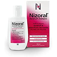Nizoral Anti Dandruff Shampoo, Perfect for Dry Flaky and Itchy Scalp - 60 ml