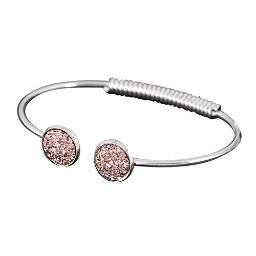 UINGKID Damen-Armband Charm Kreative Stilvolle Mode- -Gold-Silber-Punk-Manschette- -Armreif-Kette- -Schmuck-Set -
