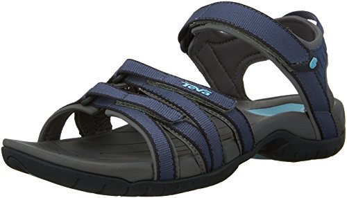 Teva W Tirra, Damen Sport- & Outdoor Sandalen, Bering Sea, 38.5 EU (5.5 UK)
