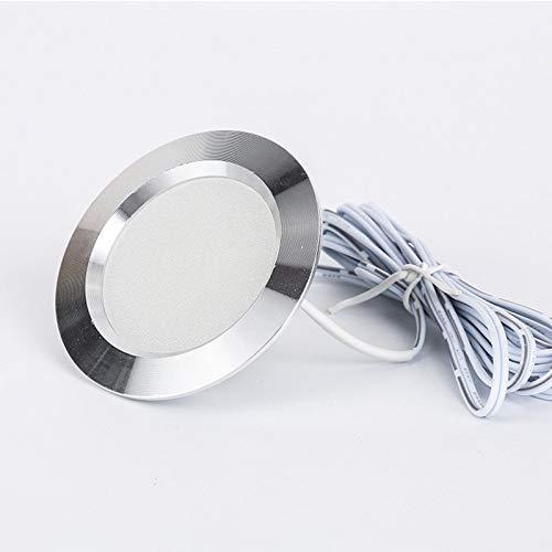 Luz de Armario LED empotrable pequeño Downlight Blanco Natural 4000k uno por...