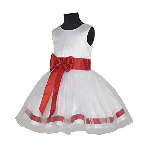 Sofyana kids bo belt flower girls dresses for weddings white baby next mightylinksfo