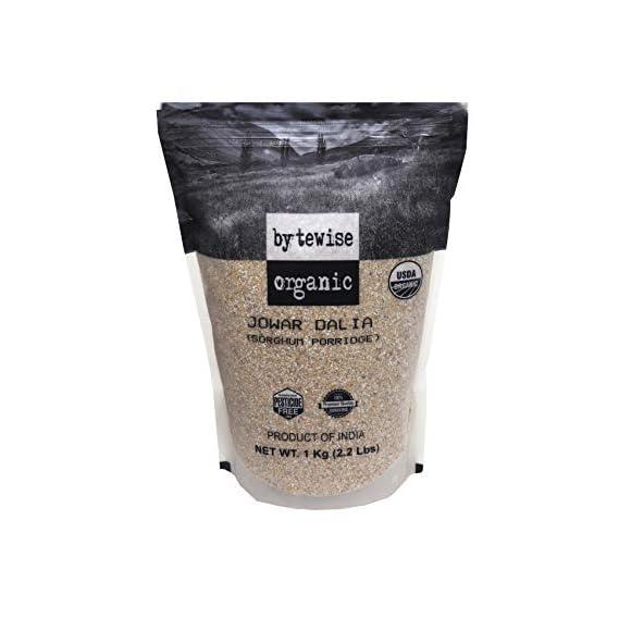 Bytewise Organic Jowar Dalia/ Split Sorghum, 1 Kg
