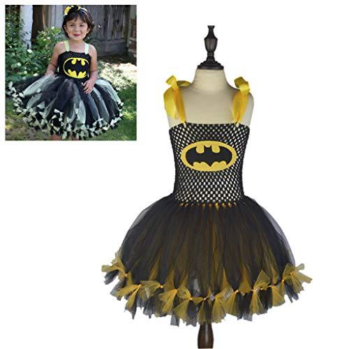 DONGBALA Halloween-Piratenkleidung, Mädchen Kleid Cosplay Kostüm Schickes Kleid Kostüm Outfit Halloween Dress Up School Karneval Spielen Für Mädchen (Höhe 90-160Cm),Gelb,L (Halloween School Boy Kostüm)