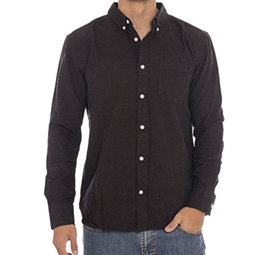 Camicia A Maniche Lunghe Dc Oxford Ls3 Nero (Xl , Nero)