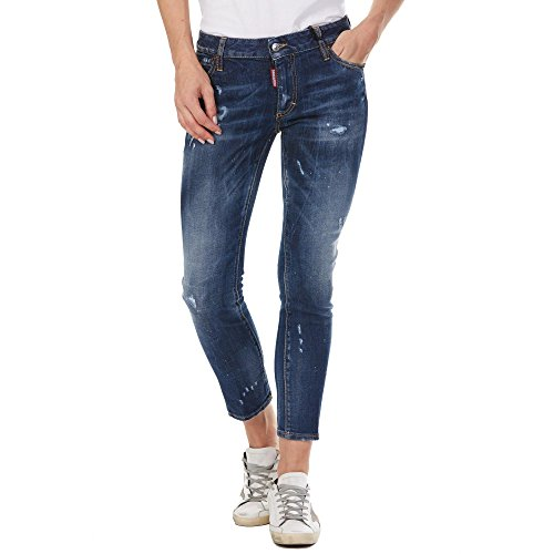 dsquared damen jeans DSQUARED Jeans Runway S72LB0160 Blue