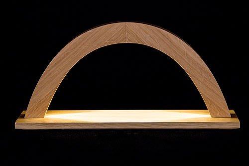 KWO Bois de chêne Lumineux Arch, Multicolore