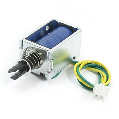 5.5mm 28gf Drücken Typ Feder Plunger DC Solenoid-Elektromagnet 24V Ziehen (Plunger Solenoid)