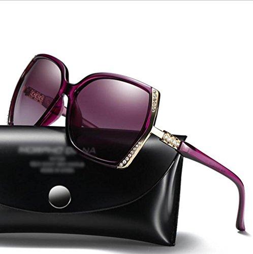 LZHA Fashion Classic Oversized Polarized Summer Sunglasses Women 100% UV400 Protection