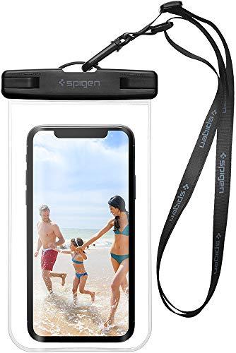 """Spigen Wasserdichte Handyhülle, [A600] *IPX8-zertifiziert* [bis 6,2"""" Zoll] Pemium Universal Wasserdichte Stoßfeste Staubdichte Handytasche für Handys iPhone/Galaxy/Huawei/OnePlus/Moto"""