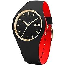 Ice-Watch - ICE loulou Black Gold - Montre noire pour femme avec bracelet en silicone - 007235 (Medium)
