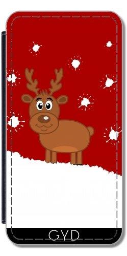 Custodia in PU Pelle per LG G3 - Un Cervo Di Natale Sulla Neve by zorg