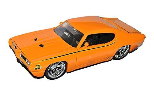pontiac-gto-judge-orange-1969-tuning-1-24-jada-modell-auto