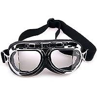 HUWQX Großen professionelles Radsport Gläser Wind Staub winddichten Brille für Motorrad Harley Spiegel, 1