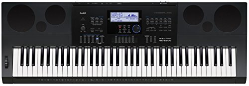 Casio WK 6600 Keyboard Test