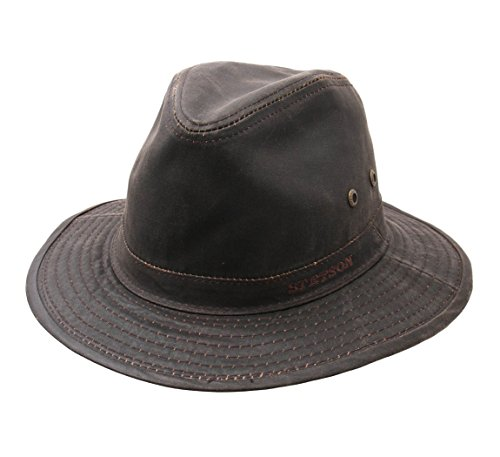 Stetson - Bob Pliable imperméable Homme Ava CO/PE Safari